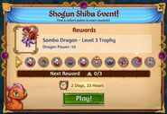 4th shogun shiba rewards