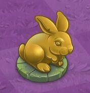 2 Chocolate Bunny