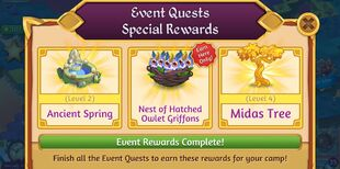 Event Quests Special Rewards Old