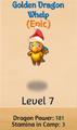 Golden Dragon Whelp (Christmas) (Christmas)