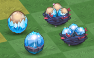 Tier 1 and 2 Winter Dragon Eggs and Nests