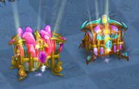 Crystal chests in game