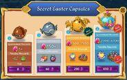 Easter 2021 secret easter capsules