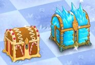 Christmas Chests in Game