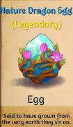 Nature dragon egg