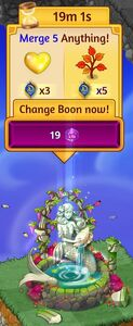 Divine wishing well new with boon