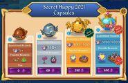Secret Happy 2021 Capsules