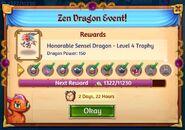 2nd zen dragon rewards