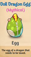 1 - Doll Dragon Egg
