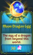 Moon Dragon Egg in Shop