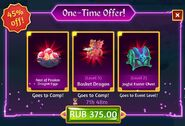 Easter 2021 one time offer