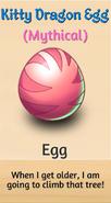 6 - Kitty Dragon Egg