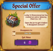 Dimensional Jar Special Offer Box