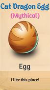 1 - Cat Dragon Egg