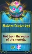 Skeleton Dragon Egg in Shop