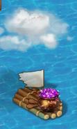Dragon Gems Raft