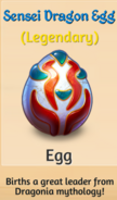 Sensei Dragon Egg1