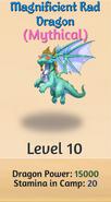10 - Magnificient Rad Dragon