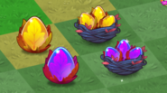 Tier 1 and 2 Wood Dragon Eggs and Nests