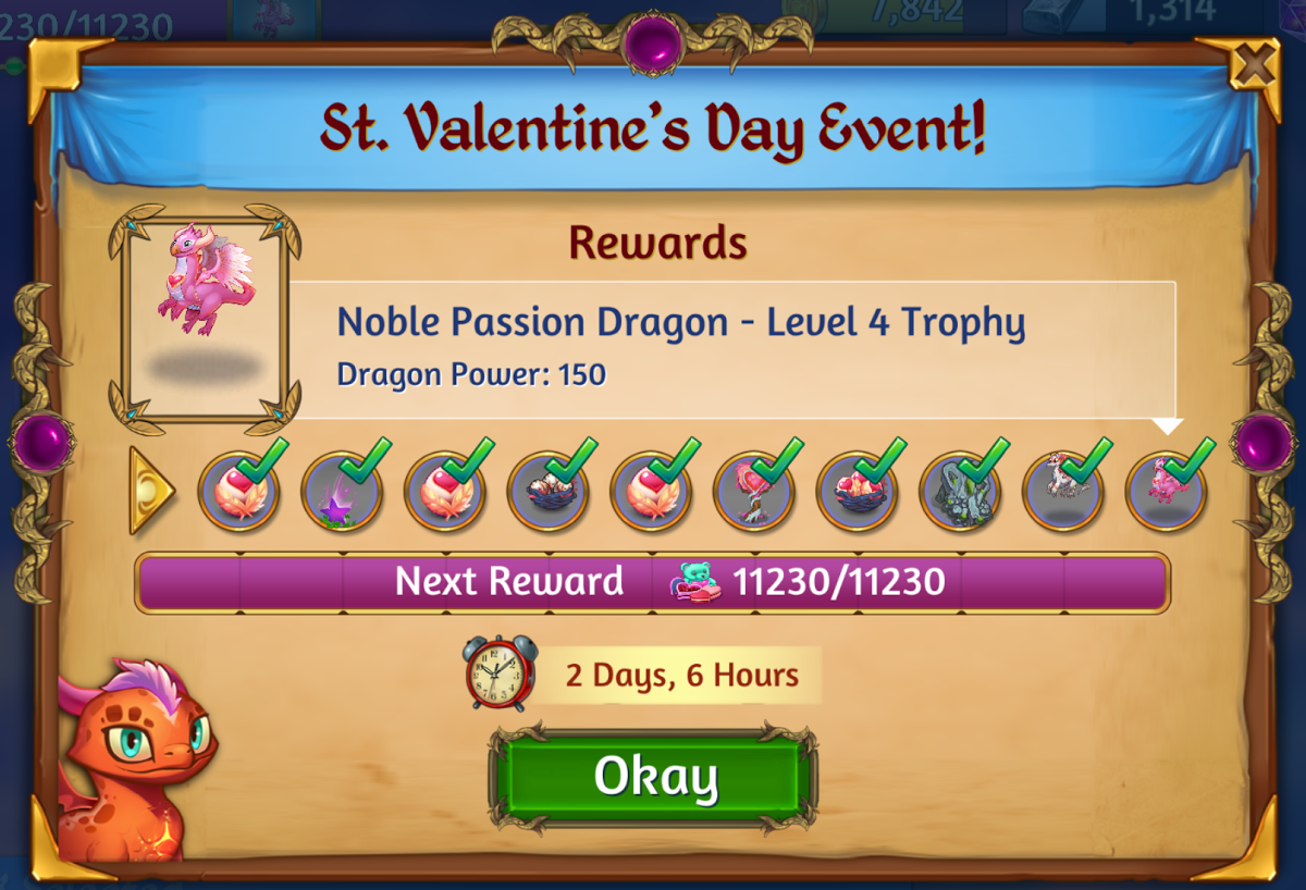St. Valentine's Day Event