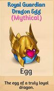 01 - Royal Guardian Dragon Egg