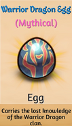 Warrior Dragon Egg