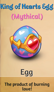 King of Hearts Egg
