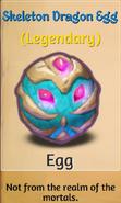 Skeleton Dragon Egg
