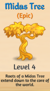 4 - Midas Tree