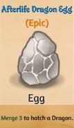 Afterlife Dragon Egg
