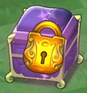 Purple Padded Dragon Egg Chest