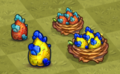 Tier 1 and 2 Golem Dragon Eggs and Nests
