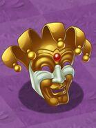 Golden Jolly Mask