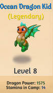 8 - Ocean Dragon Kid