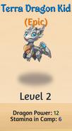 3 - Terra Dragon Kid