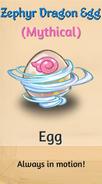 1 - Zephyr Dragon Egg