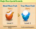 Magic moon special rewards