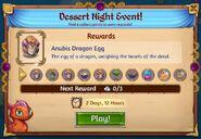 Dessert night rewards