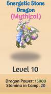 10 - Energetic Stone Dragon
