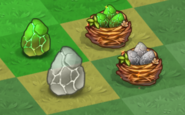 Tier 1 and 2 Life Dragon Eggs and Nests