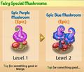Fairy special mushrooms