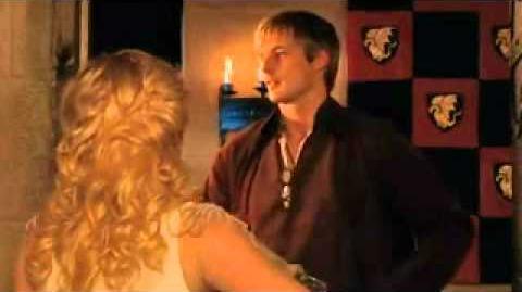 "Merlin- Arthur's ""Destiny and Chicken"" Scene"