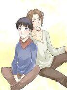 Gwaine and merlin3