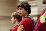Mordred with the knights