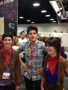 Colin Morgan Comic Con 2012