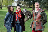 Angel Coulby and Katie McGrath-2