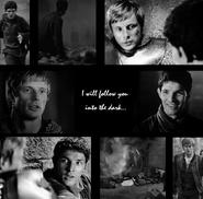 Merthur - I will follow you into the dark