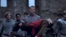 Percival saves Merlin