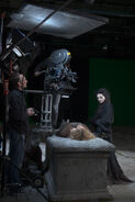 Katie McGrath Behind The Scenes Series 4-8