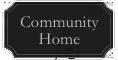 Community home